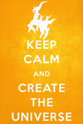 Keep Calm And Create The Universe