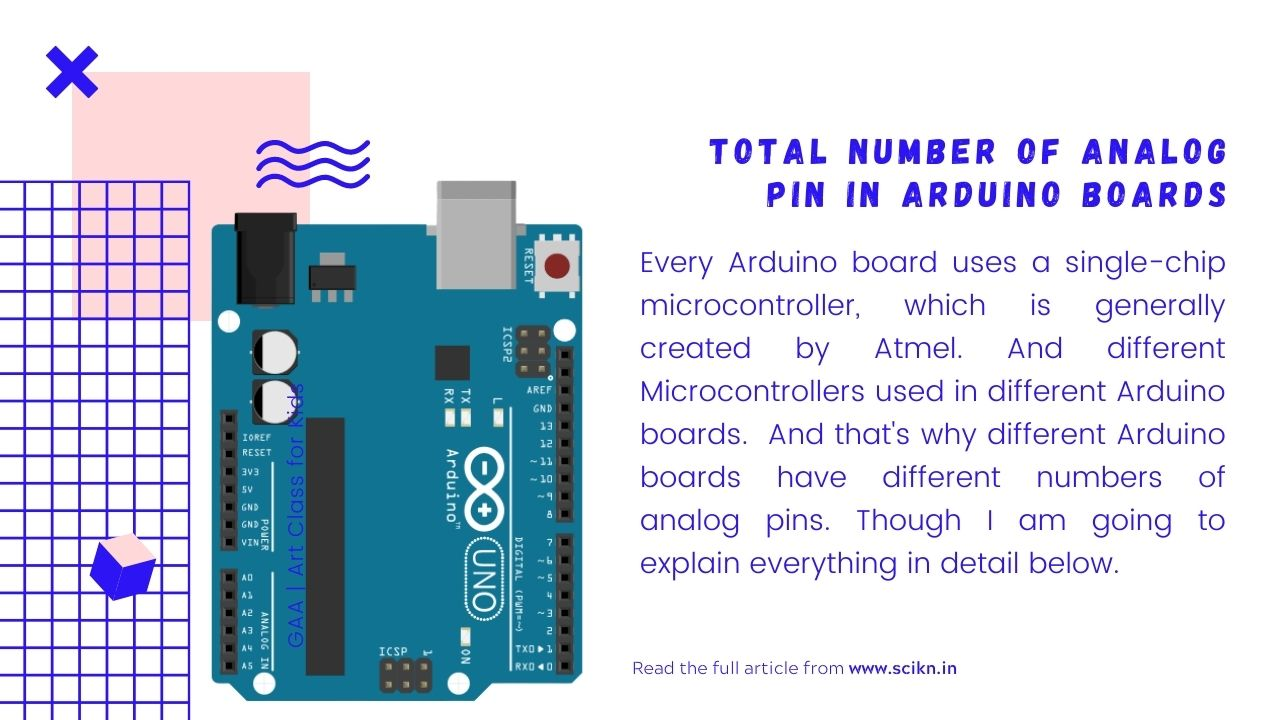 Total number of Analog pin in Arduino