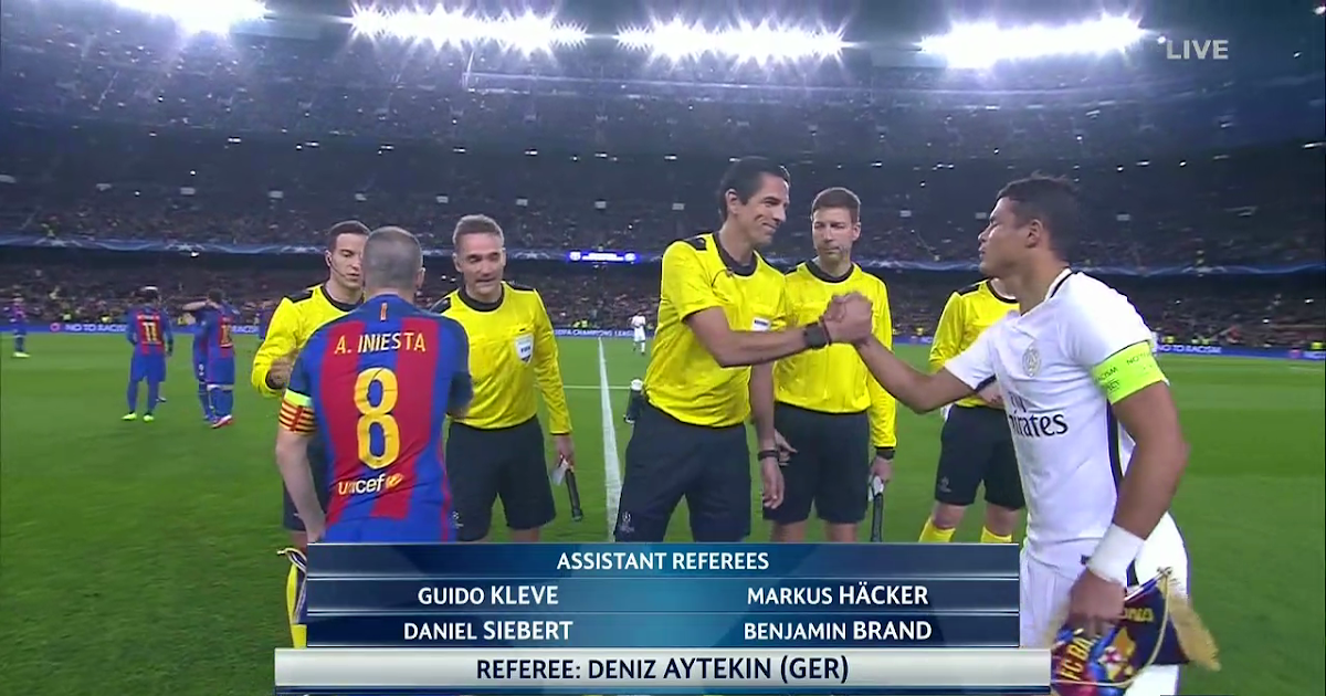 Match of the Day TV: Barcelona vs PSG - UEFA Champions ...