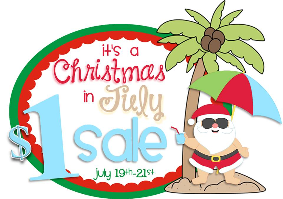 Christmas In July Sale Ideas.Stuckey In Second July 2015