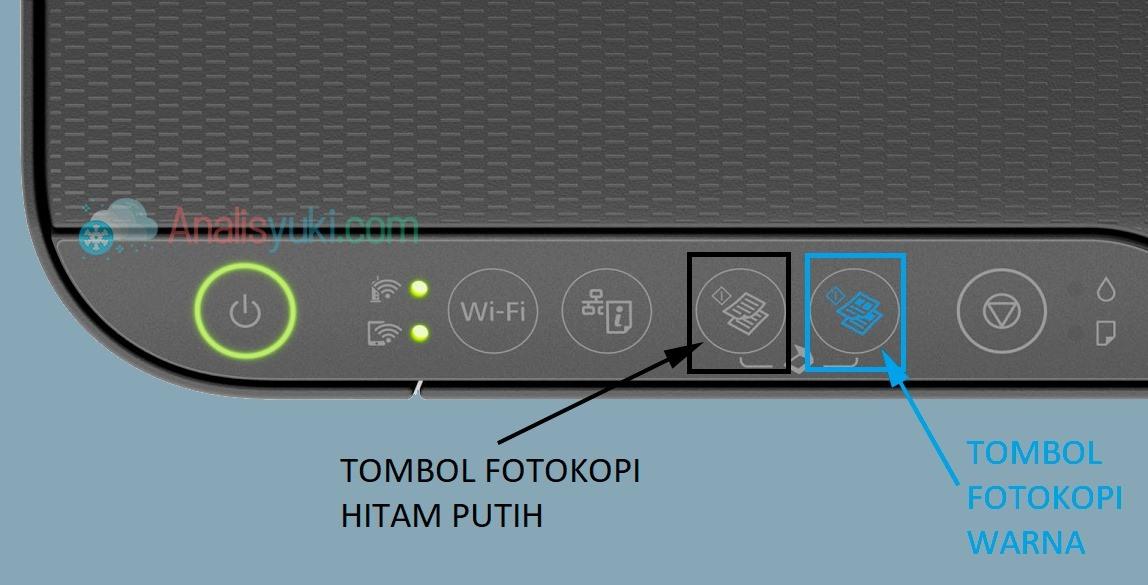 Cara Menggunakan Fotokopi Epson L3150