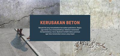 Jenis ketusakan beton