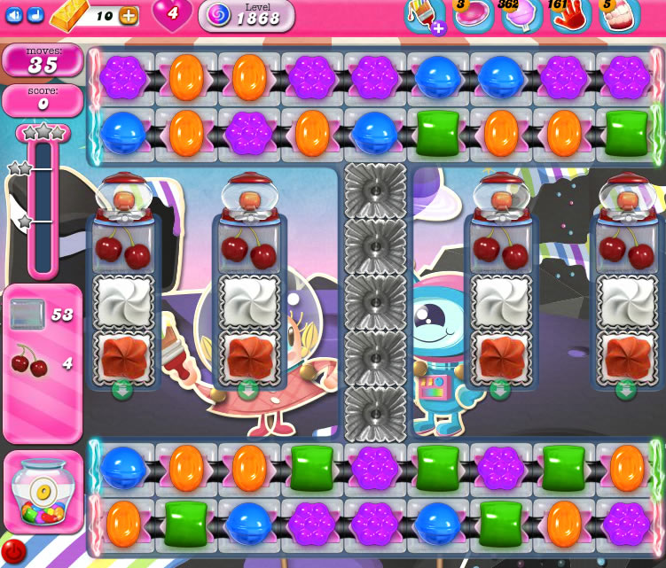 Candy Crush Saga 1868