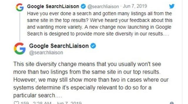 Google new updates 2019