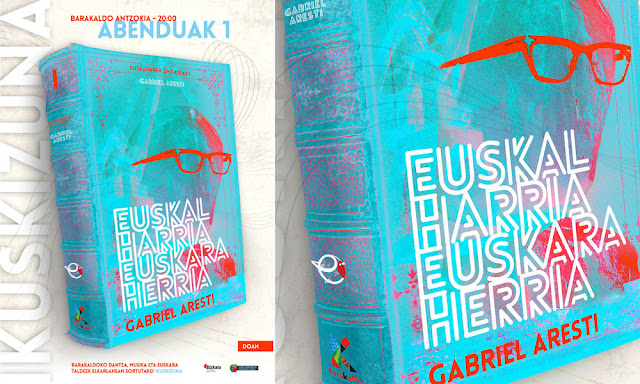 Cartel del espectáculo Euskal Harrea-Euskara Herria