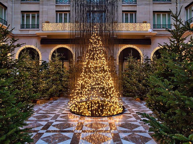 Luxury Life Design: Amazing Christmas Tree At Four Seasons