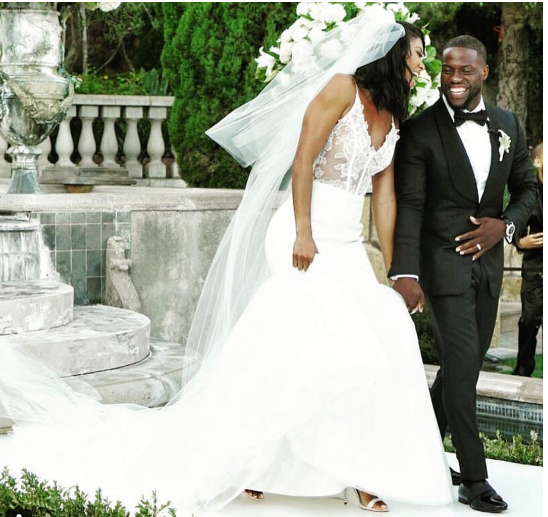 Eniko Parrish and Kevin Hart's Wedding Photos