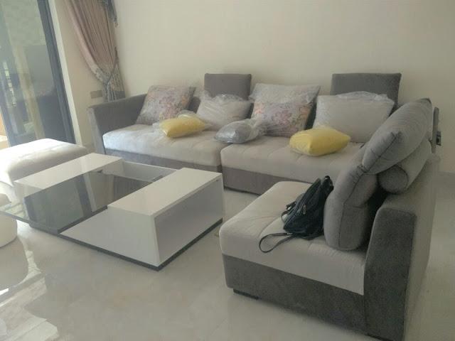 Sofa bọc nỉ chất lượng