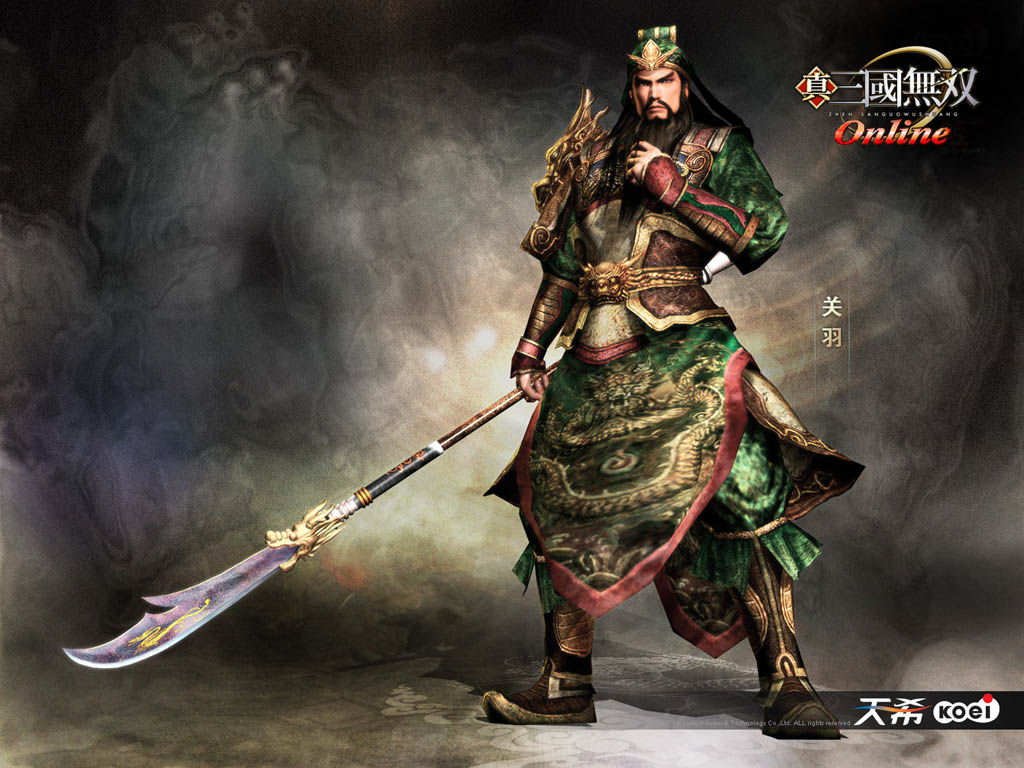 This is a more of a modern version of the character Guan Yu.