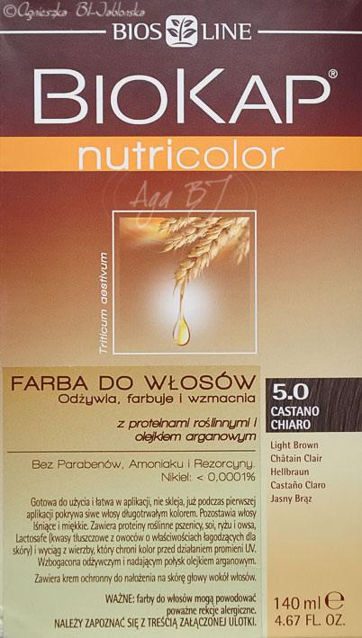Agowe Petitki Farba Biokap Nutricolor