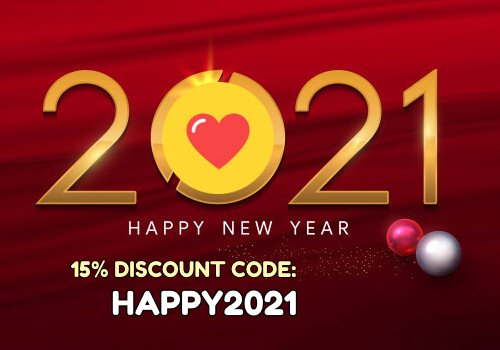 New Year 2021 promotion
