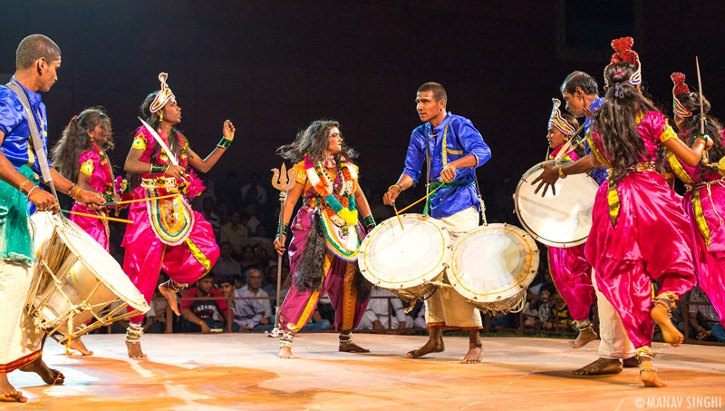 Veeragase Folk dance Karnataka
