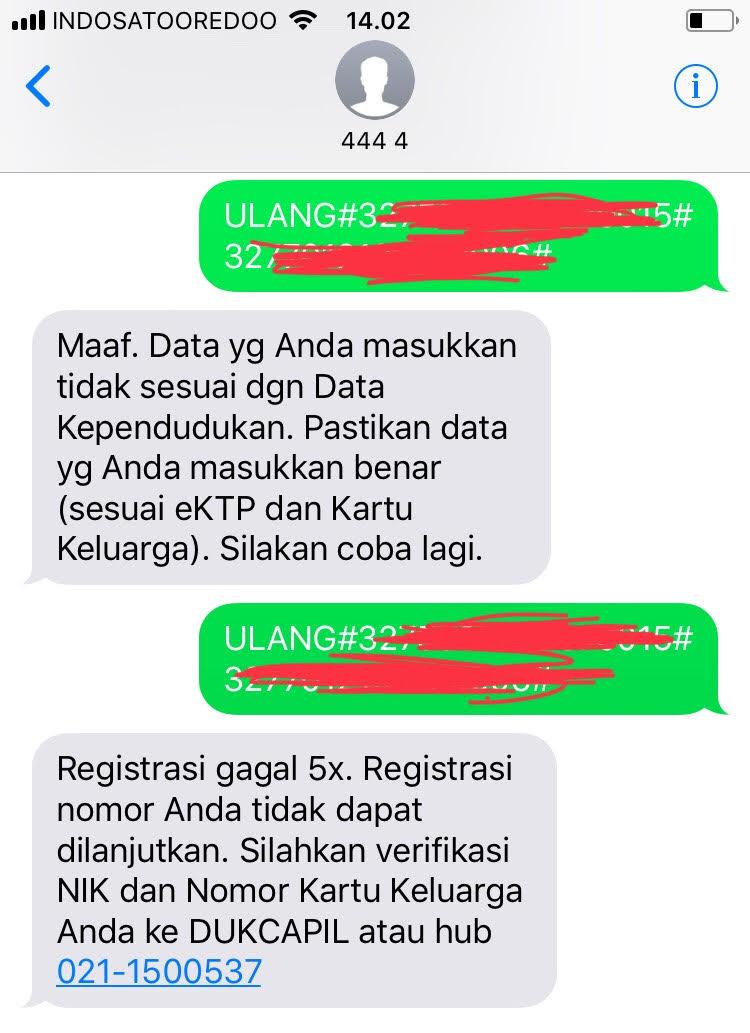 Gagal Registrasi Ulang Kartu Prabayar, Harus Bagaimana?  Bunda Nameera\u002639;s Blog