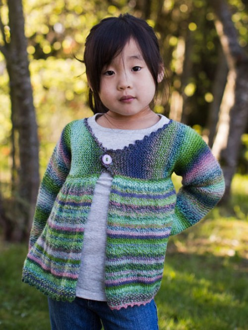 Girl's Swing Jacket - Free Pattern
