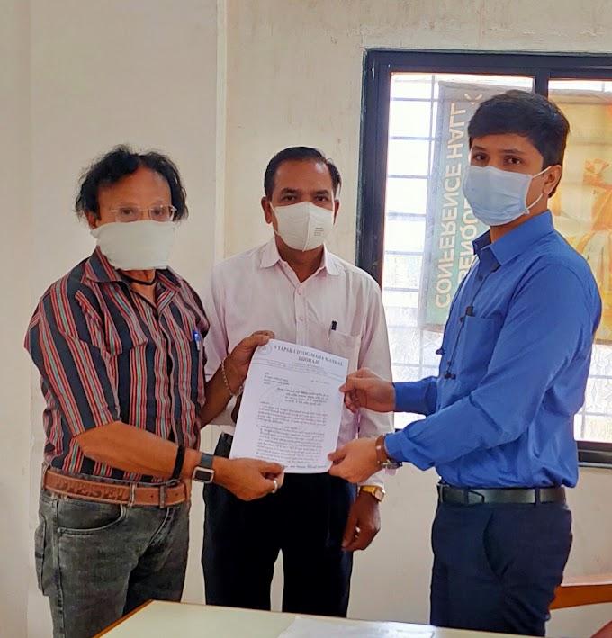 ધોરાજી વેપાર ઉદ્યોગ મહામંડળ દ્વારા નગરપાલિકાના ચીફ ઓફિસરને આકરા વેરા ની સામે આવેદનપત્ર પાઠવ્યું