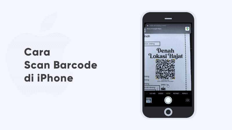 cara scan barcode di iphone