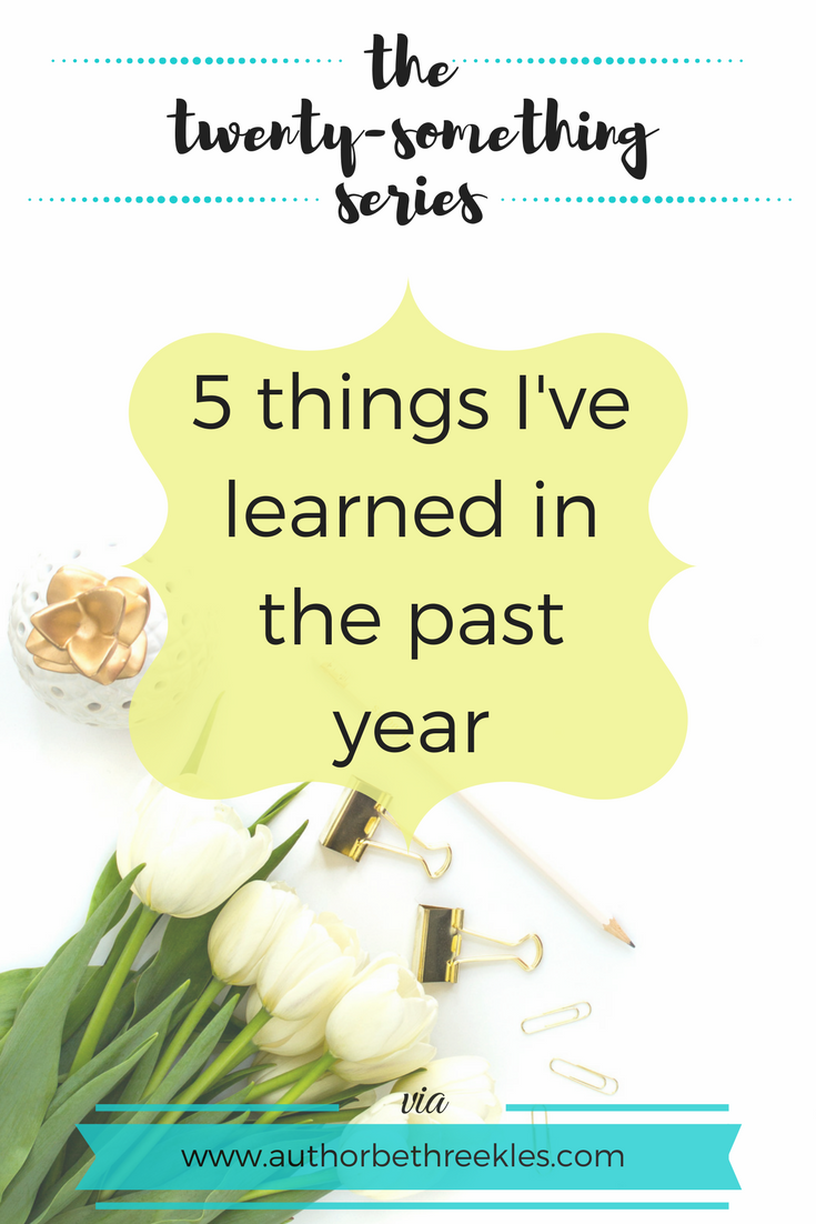This past year has been a whirlwind of change for me, so in this post I reflect and share a few things I've learned.