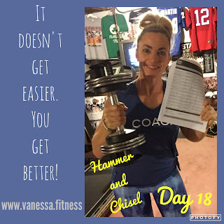 Hammer and Chisel, tips for weightless, autumn calabrese, 21 Day Fix, vanessa.fitness, vanessadotfitness