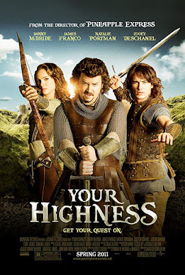 Your Highness 2011 UNRATED Dual Audio Hindi 720p BluRay 900mb