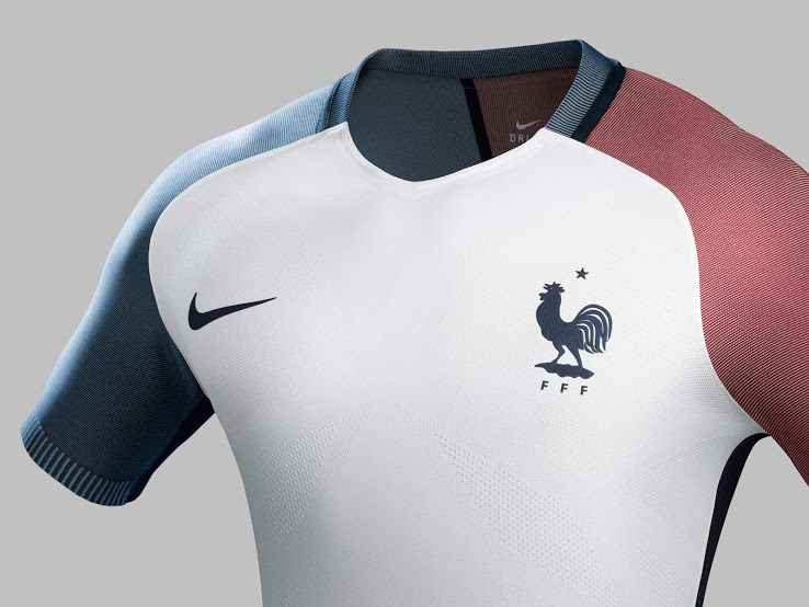 France Euro 2016 Away Jersey