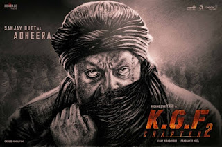 KGF Chapter 2 First Look Poster 1