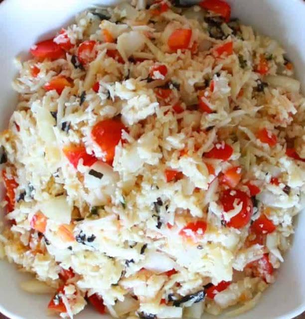 وصفة أرز باليو اليوناني / Paleo Greek Rice Recipe