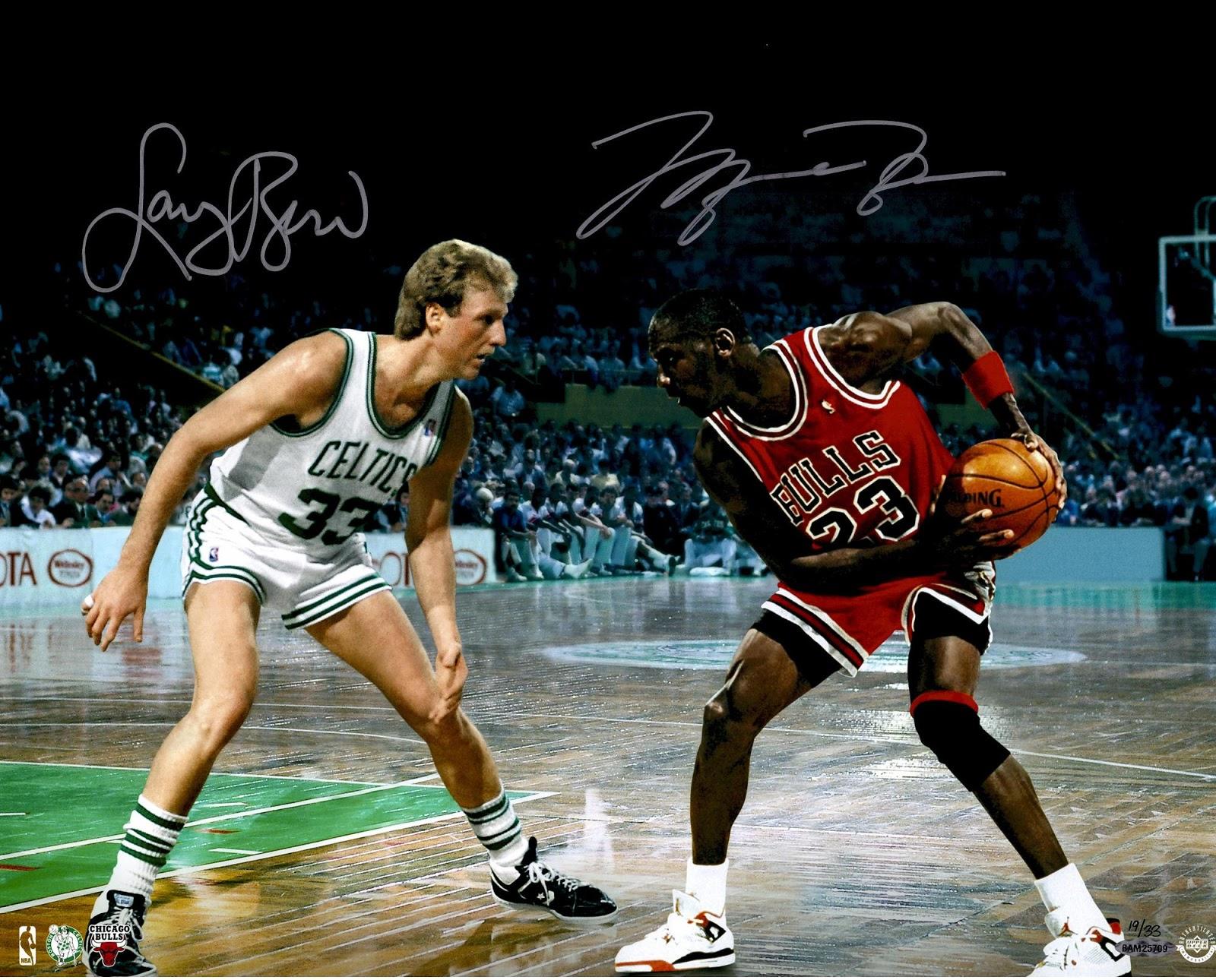 watch 91c57 a9122 Celtics Life: Larry Bird admits he'd get smoked by Jordan in ...