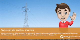 Your energy bills could rise once more
