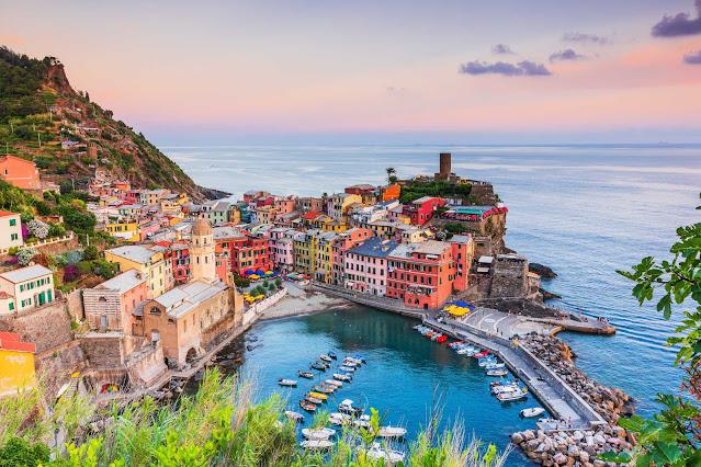 قرى شينكو تيري الملونة | Cinque Terre