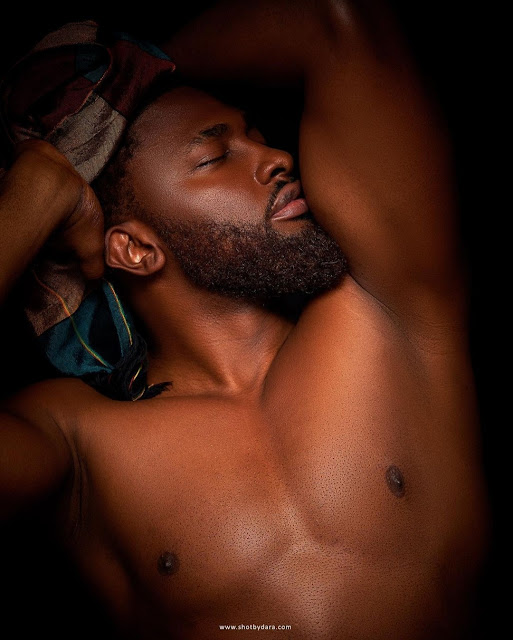 Actor Uti Nwachukwu shares photos of himself as he turns a year older today (photos)
