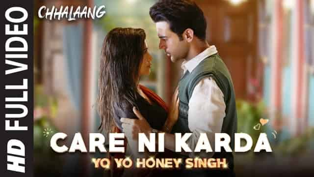 केयर नि करदा Care Ni Karda Lyrics In Hindi - Chhalaang