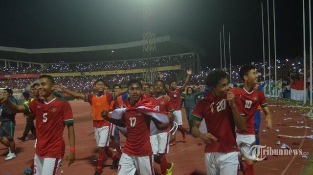 Gilas Thailand Lewat Adu Penalti, Timnas U-16 Indonesia Juara Piala AFF 2018
