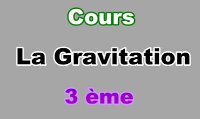 Cours sur la Gravitation 3eme en PDF