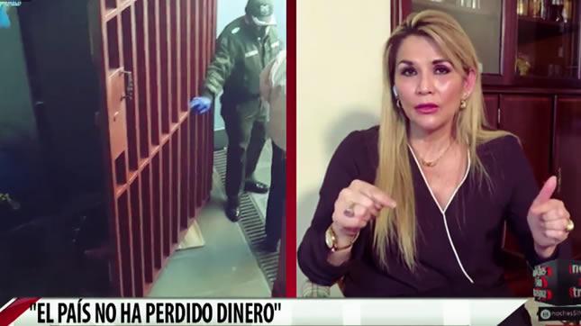 La presidenta Áñez aseveró que no hubo pérdida de recursos del Estado en el caso respiradores
