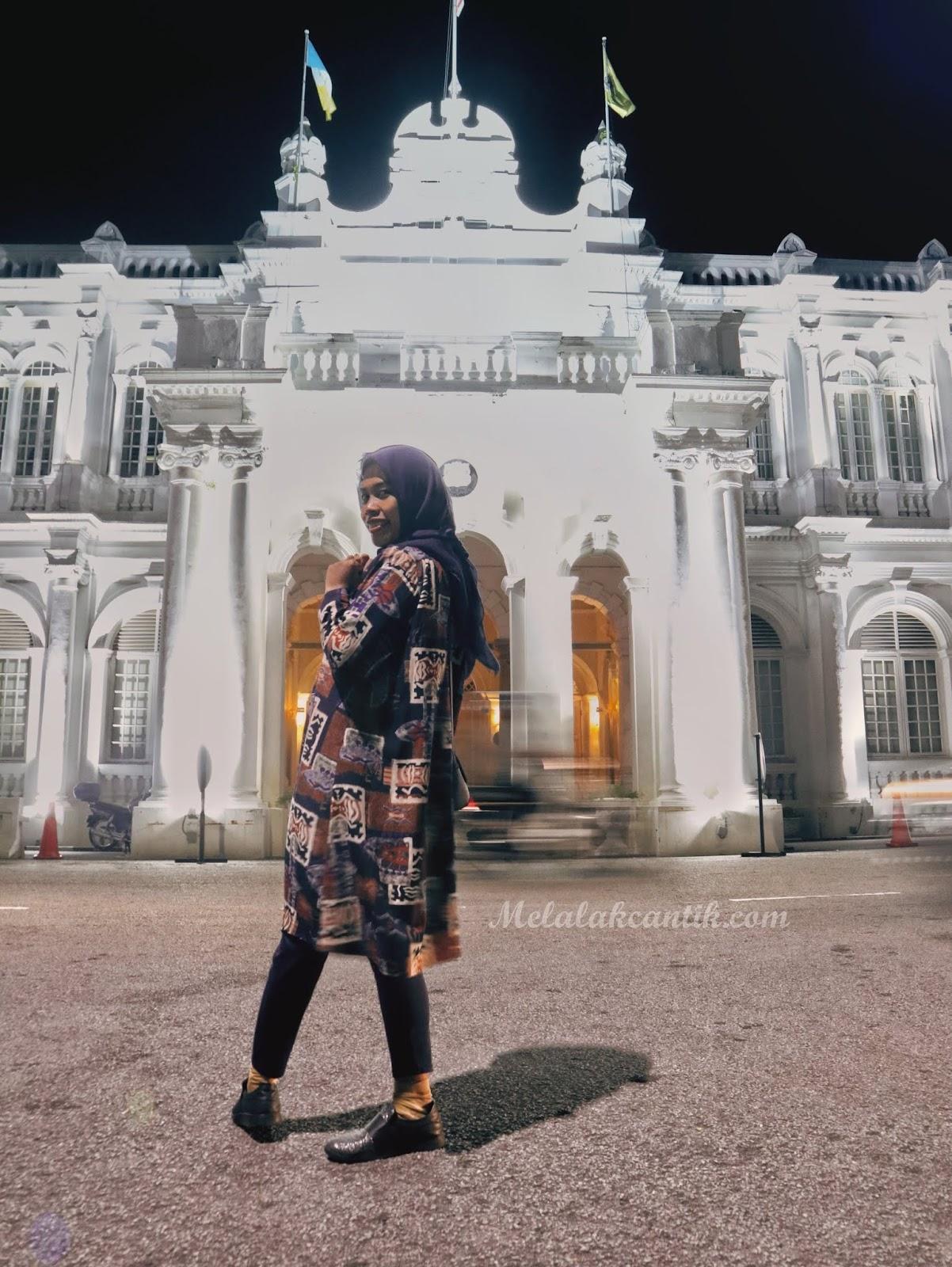 Padang kota lama esplanade Penang,Malaysia