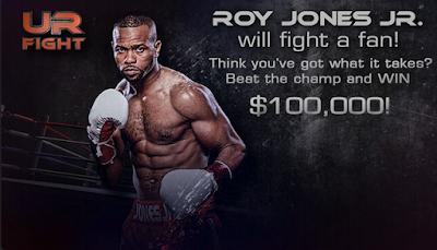 Petinju Roy Jones Jr