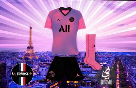 maglie calcio 2020: Maglie da calcio PSG 2020 2021 quarto predizione