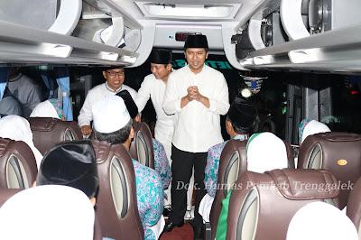 Berangkatkan Jama'ah Calon Haji, Pemerintah Kabupaten Titip Doa untuk Trenggalek