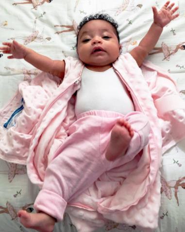 Serena Williams' daughter, Alexis Jr is cute in pink