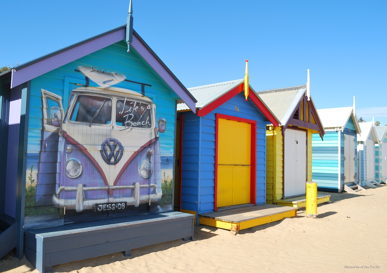 brighton beach bathing houses melbourne australia