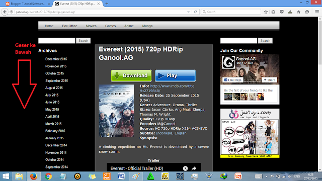 Cara download film di ganool sekali tiup  Cara Download Film di Ganool Sekali Tiup [Update]