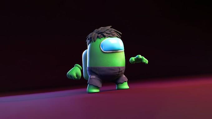 Papel de Parede para Celular Hulk Among US
