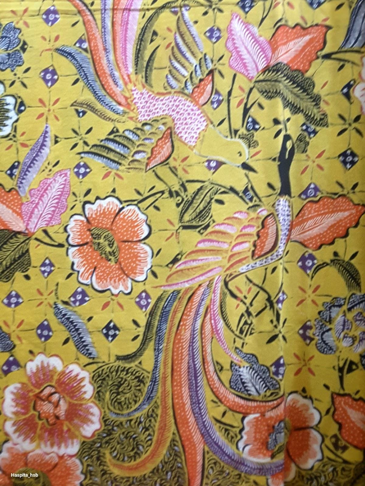 Haspita Hasibuan: Batik is the art of painting on cloth.