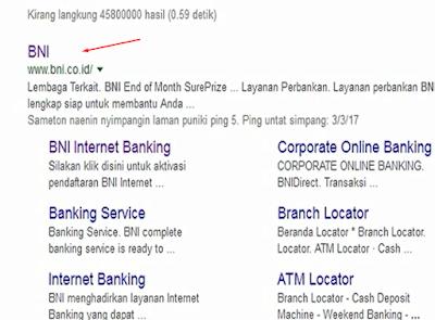 Cek Mutasi BNI Menggunakan Internet Banking 1