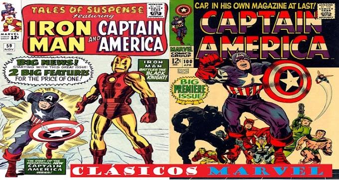 Clásicos Marvel: Capitán América, relatos de suspense