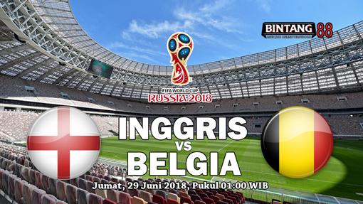 Prediksi Inggris vs Belgia 29 Juni 2018