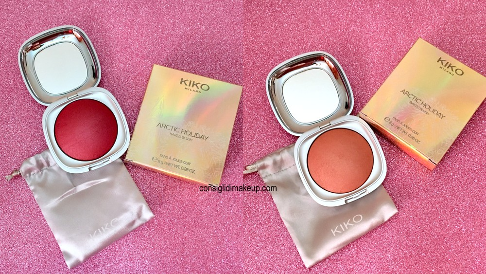 baked blush arctic holiday kiko recensione