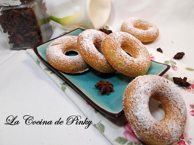 Roscos Donut De Anis Al Horno