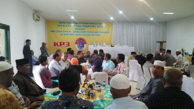 Pengurus Pemekaran Aceh Leuser Antara (ALA) Rapatkan Barisan
