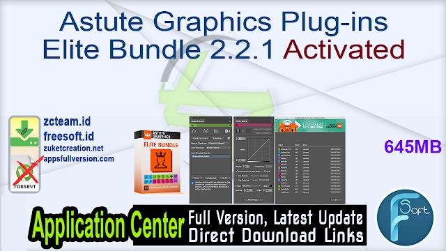 Astute Graphics Plug-ins Elite Bundle 2.2.1 Activated_ ZcTeam.id